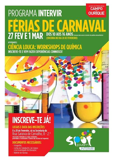 FÉRIAS DE CARNAVAL