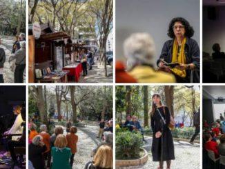 A Feira do Livro de Poesia foi um sucesso e trouxe muita animação e cultura ao bairro