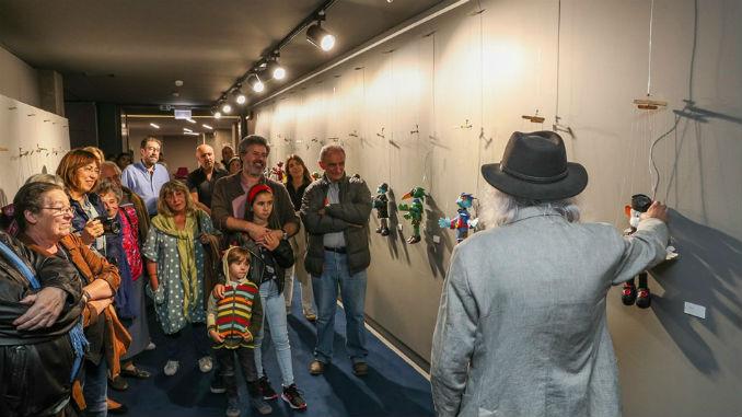 Exposição com marionetas vai estar patente até 2 de novembro