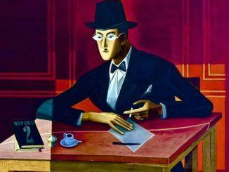Retrato de Fernando Pessoa (1954) por Almada Negreiros