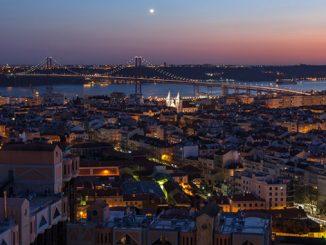 Miradouro das Amoreiras é grátis em setembro, passa a estar aberto à noite e a vista é incrível