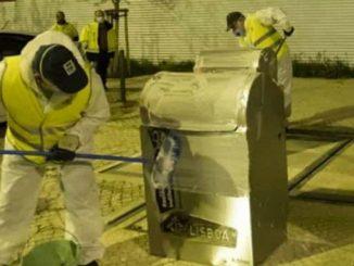 Câmara Municipal suspende recolha de vários tipos de lixo em Lisboa